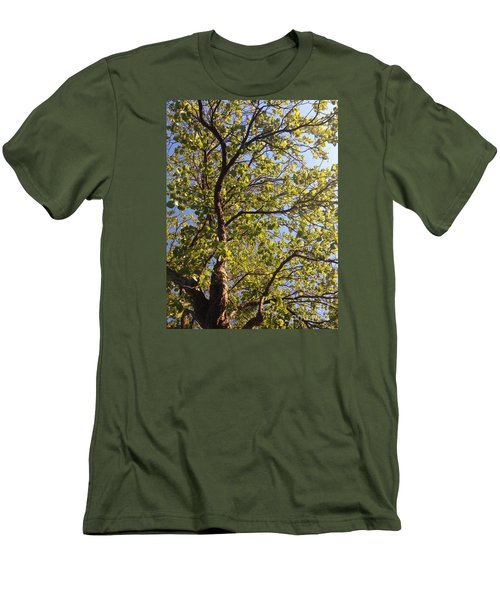 Men's T-Shirt (Slim Fit) featuring the photograph Multiplicity  by Nora Boghossian