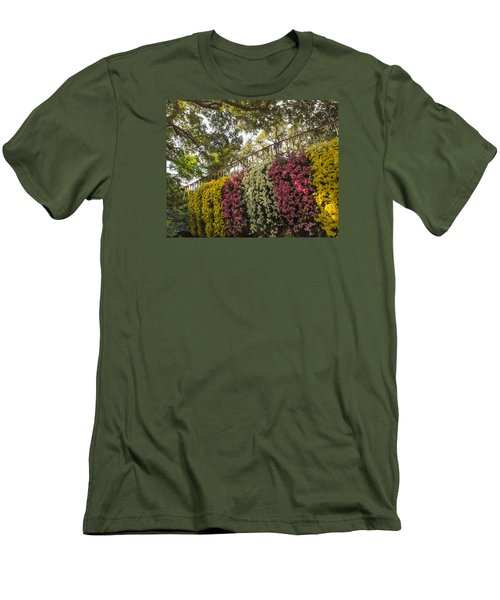 Men's T-Shirt (Athletic Fit) featuring the photograph Mum's The Word by Julie Andel