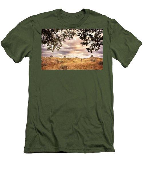 Munson Morning Men's T-Shirt (Slim Fit) by John Poon