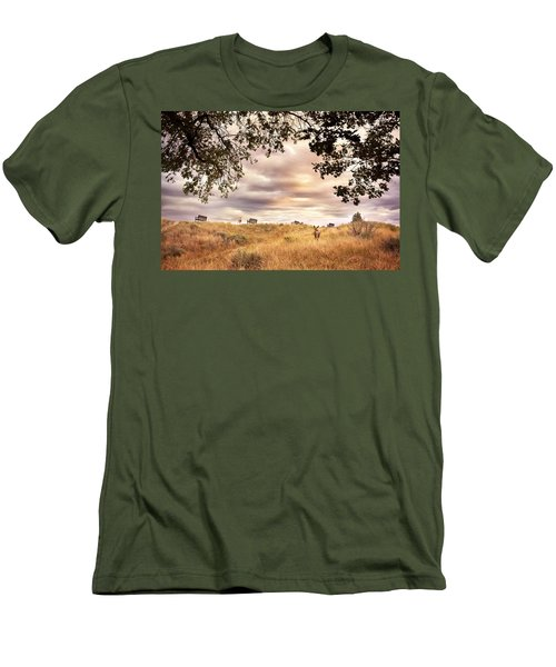 Munson Morning Men's T-Shirt (Athletic Fit)