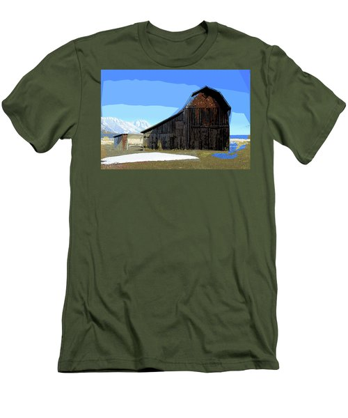 Murphy's Barn Men's T-Shirt (Athletic Fit)