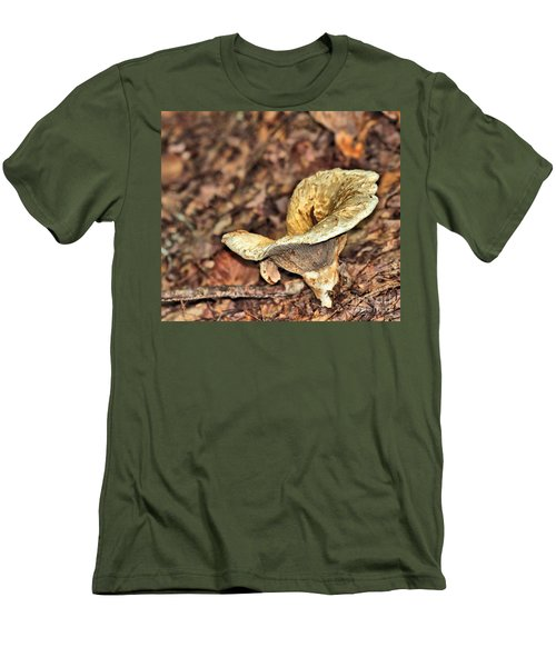 Men's T-Shirt (Athletic Fit) featuring the photograph Mushroom by Debbie Stahre