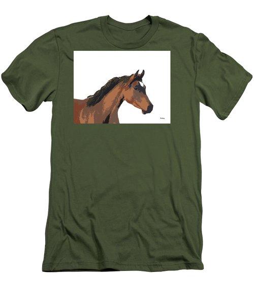 Men's T-Shirt (Slim Fit) featuring the digital art Music Notes 26 by David Bridburg