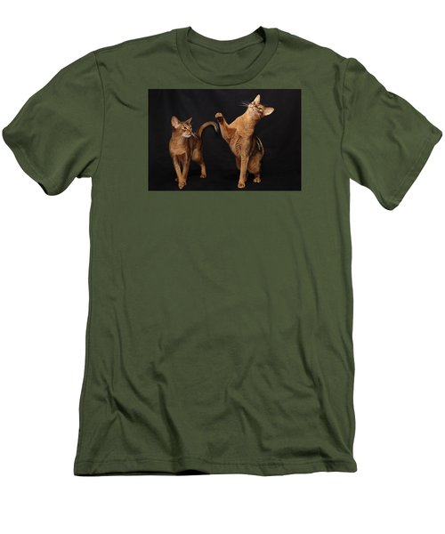 Men's T-Shirt (Slim Fit) featuring the photograph My Abys by Gary Hall