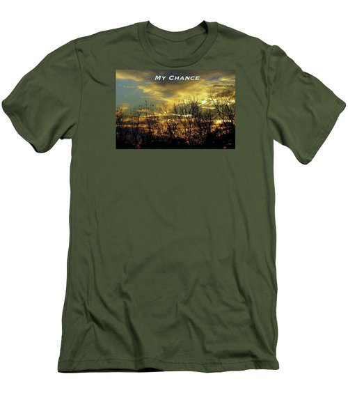 Men's T-Shirt (Slim Fit) featuring the photograph My Chance by David Norman