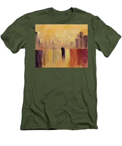 My Friend My Lover Men's T-Shirt (Athletic Fit)