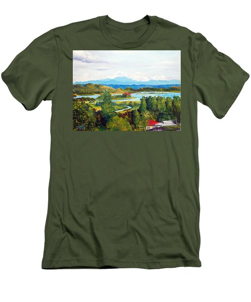 My Homeland Men's T-Shirt (Athletic Fit)