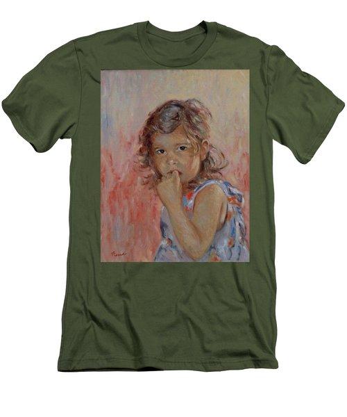 My Little Baby  Men's T-Shirt (Slim Fit) by Pierre Van Dijk