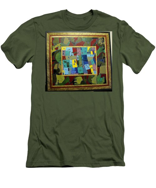 My Little Town Men's T-Shirt (Athletic Fit)