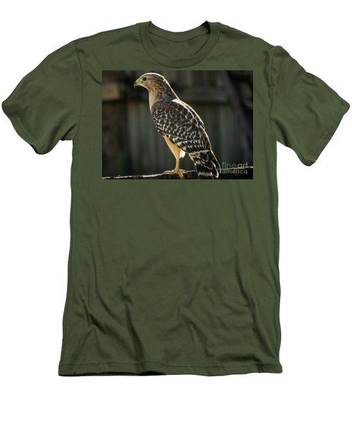 My Lucky Hawk Men's T-Shirt (Athletic Fit)