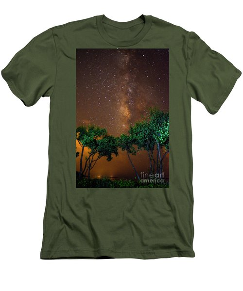 My Milky Way Men's T-Shirt (Athletic Fit)