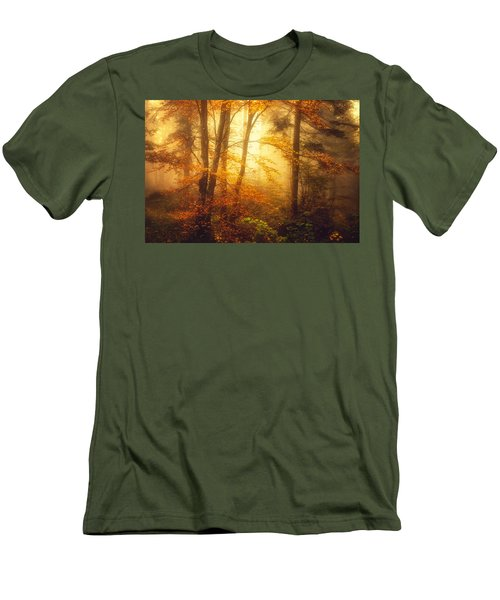 Mystic Fog Men's T-Shirt (Athletic Fit)