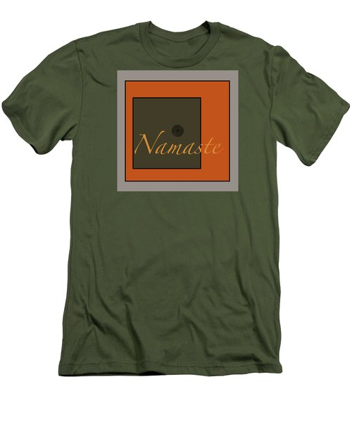 Namaste Men's T-Shirt (Slim Fit) by Kandy Hurley