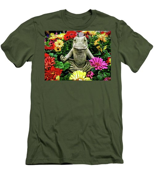 Namaste Men's T-Shirt (Athletic Fit)