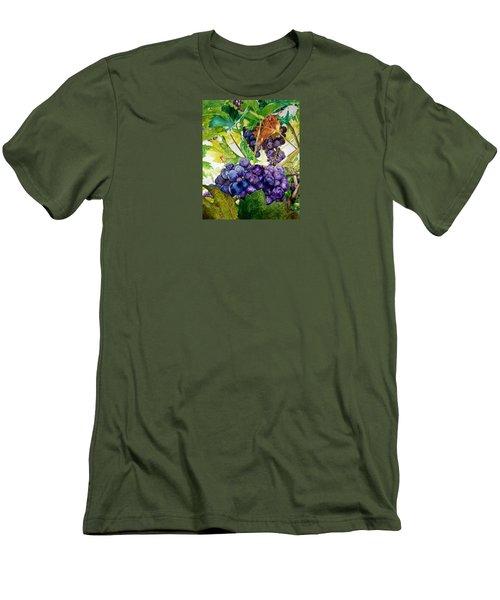 Napa Harvest Men's T-Shirt (Slim Fit) by Lance Gebhardt