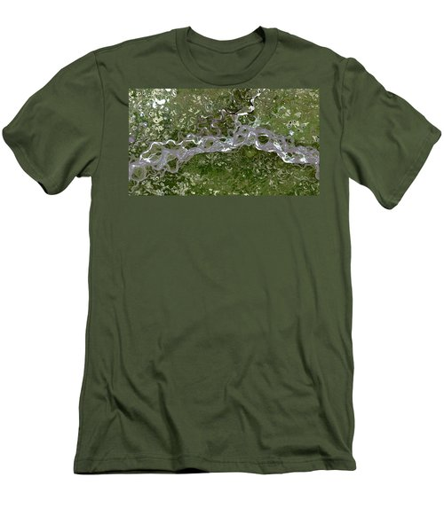 Nasa Image-fort Yukon, Alaska-2 Men's T-Shirt (Athletic Fit)