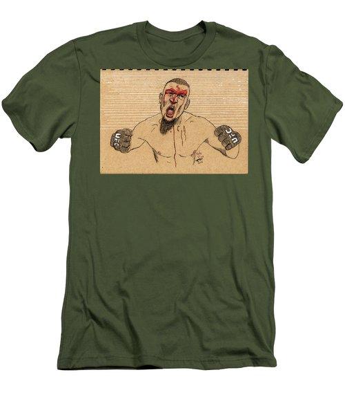 Nate Diaz Men's T-Shirt (Athletic Fit)