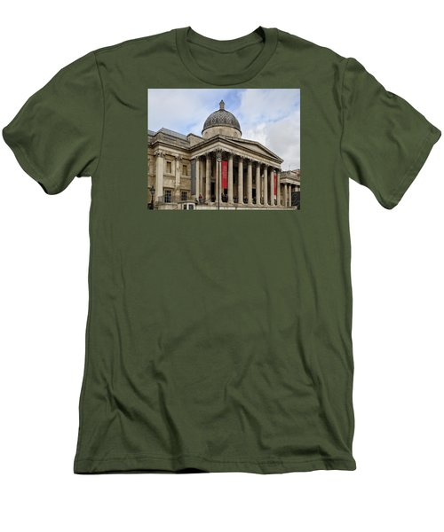 National Gallery London Men's T-Shirt (Slim Fit) by Shirley Mitchell