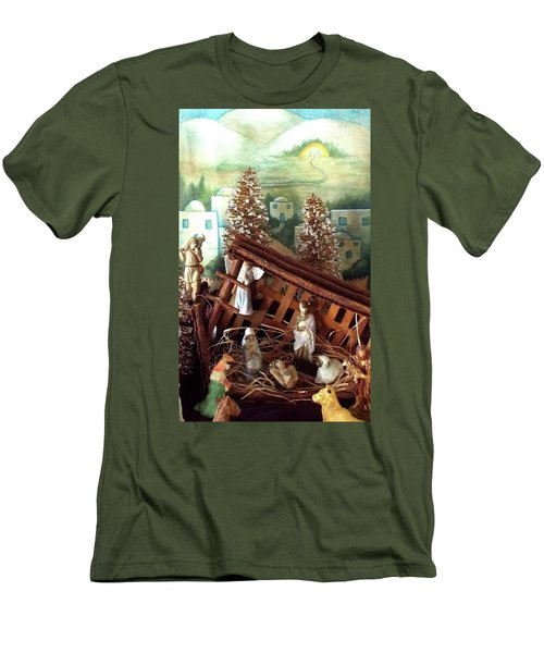 Nativity Of Our Lord Men's T-Shirt (Athletic Fit)