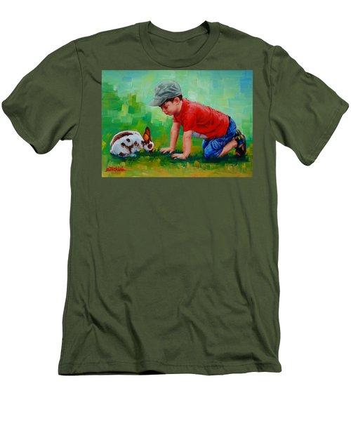 Natural Wonder Men's T-Shirt (Slim Fit) by Margaret Stockdale
