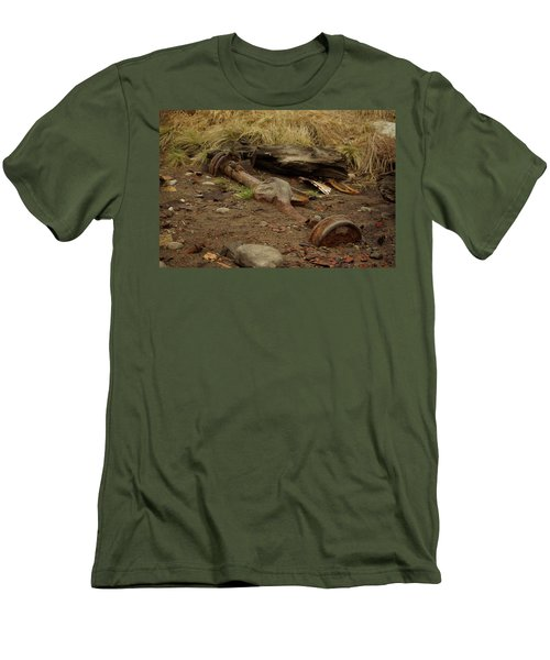 Nature Wins Men's T-Shirt (Athletic Fit)