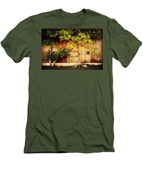 Natures Awning Men's T-Shirt (Slim Fit) by Julie Hamilton