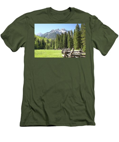 Nature's Song Men's T-Shirt (Slim Fit) by Eric Glaser