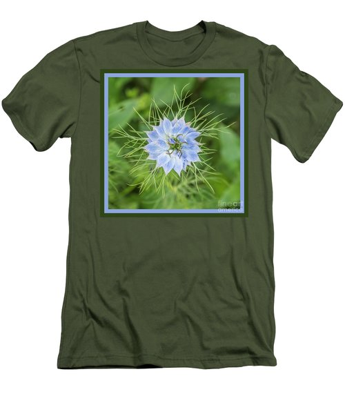 Men's T-Shirt (Athletic Fit) featuring the photograph Natures Star by Wendy Wilton