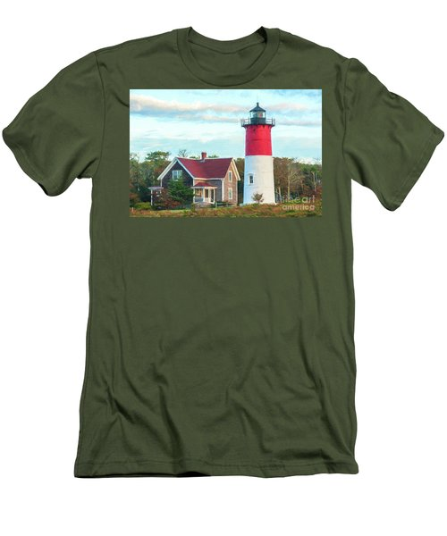 Nauset Light Men's T-Shirt (Athletic Fit)