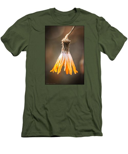 Men's T-Shirt (Slim Fit) featuring the photograph Near The End by Michaela Preston