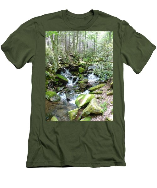 Near The Grotto Men's T-Shirt (Slim Fit)