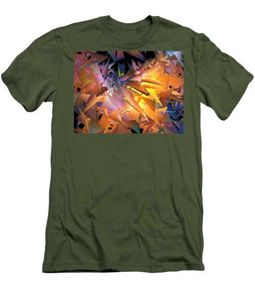 Men's T-Shirt (Slim Fit) featuring the digital art Nearing by Ludwig Keck