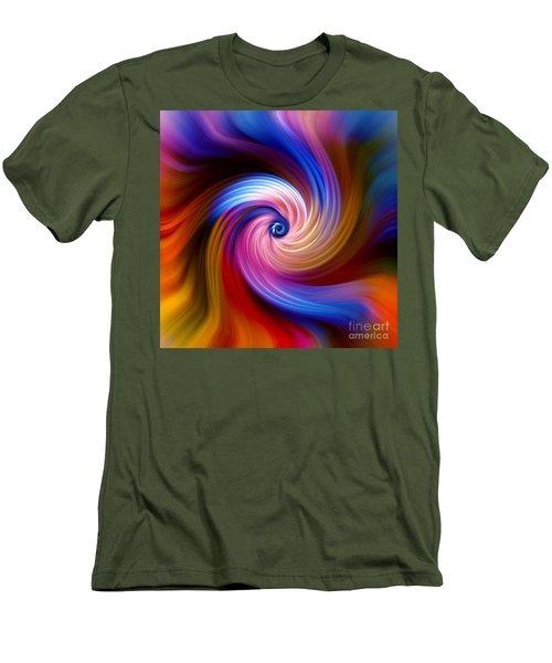 Neon Escape Men's T-Shirt (Athletic Fit)