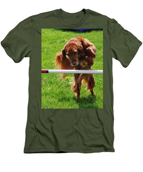 Men's T-Shirt (Athletic Fit) featuring the photograph Never Give Up by Vadim Levin