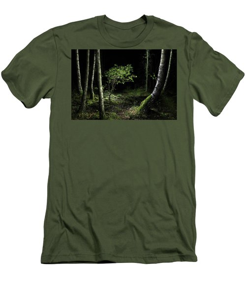 New Growth - Birch Sapling Men's T-Shirt (Athletic Fit)