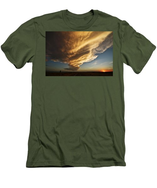 New Mexico Structure Men's T-Shirt (Athletic Fit)