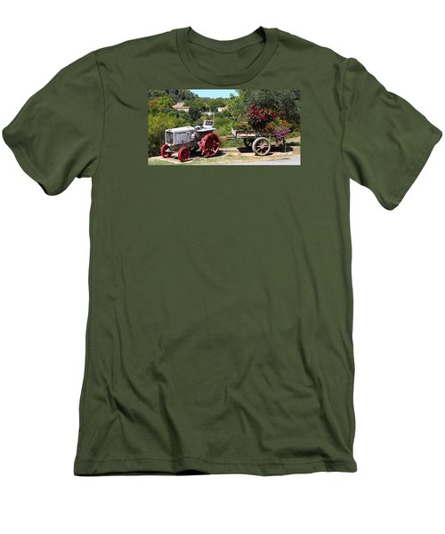 Men's T-Shirt (Slim Fit) featuring the photograph New Pastures by Richard Patmore