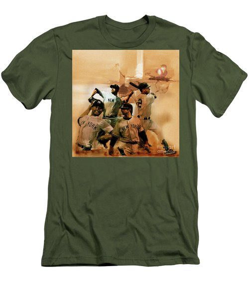 New York Yankees  Men's T-Shirt (Slim Fit) by Gull G