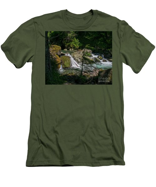 Nickel Creek 0715 Men's T-Shirt (Athletic Fit)