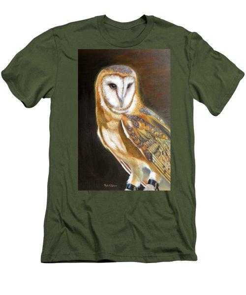 Night Angel Men's T-Shirt (Slim Fit) by Phyllis Beiser