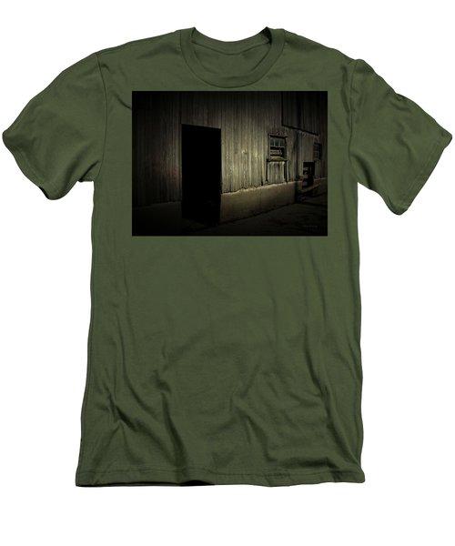 Night Barn Men's T-Shirt (Athletic Fit)