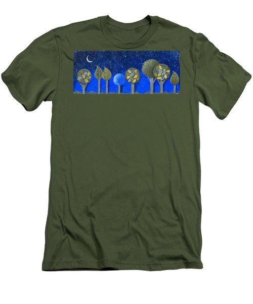 Night Grove Men's T-Shirt (Athletic Fit)