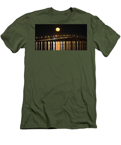 Night Of Lights Men's T-Shirt (Slim Fit) by Gary Smith
