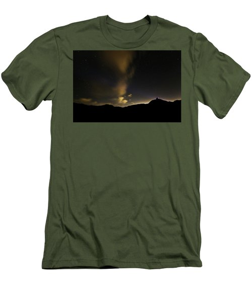 Night Time At Palo Duro Canyon State Park - Texas Men's T-Shirt (Athletic Fit)