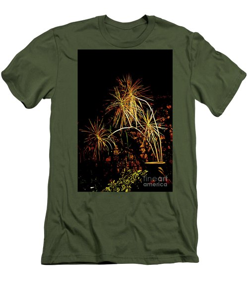 Men's T-Shirt (Slim Fit) featuring the photograph Nightmares Are Made Of This by Al Bourassa