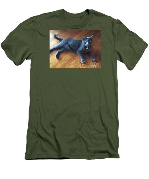 Nine Lives  Men's T-Shirt (Athletic Fit)