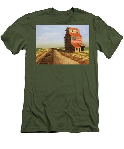 No Grain, No Train Men's T-Shirt (Athletic Fit)