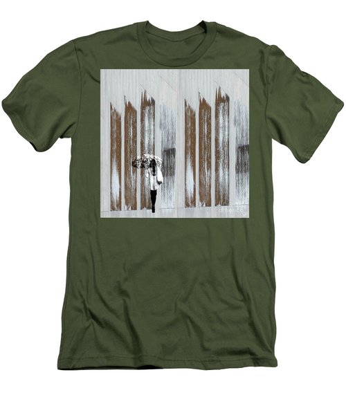 Men's T-Shirt (Athletic Fit) featuring the photograph No Rain Forest by LemonArt Photography