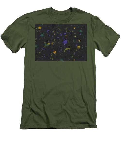 Nola Mardi Gras Men's T-Shirt (Slim Fit) by Phil Strang