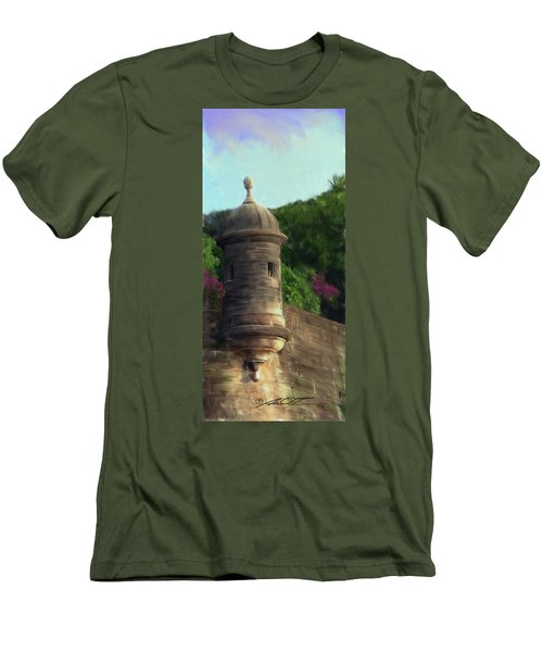 Norma's Pr Tower Men's T-Shirt (Athletic Fit)